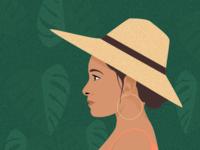 Illustration | The adventurer woman 🌿