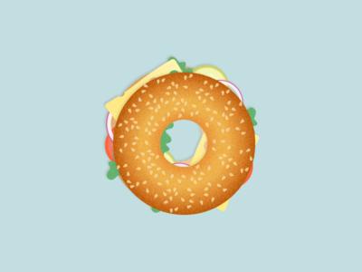 Illustration | Bagel 🍔