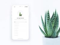 App | Plant keeper app concept 🌿