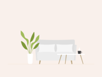 Illustration | Couch 🌱