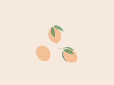 Illustration | Lemons or peachs?