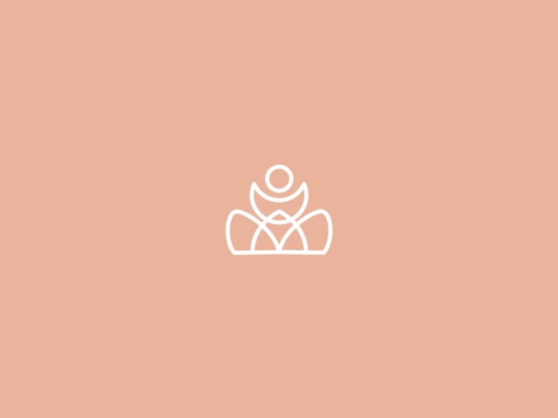 Branding | Yoga brand 🧘🏻 logo concept healthy yoggie yoga logotype branding logo flat vector minimal illustration sketchapp julie charrier