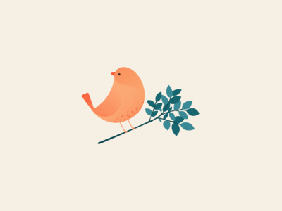 Illustration   Bird 🐤