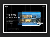 Arhitecture - Landing page