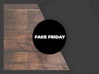 Sticker Mule Playoff - Fake friday