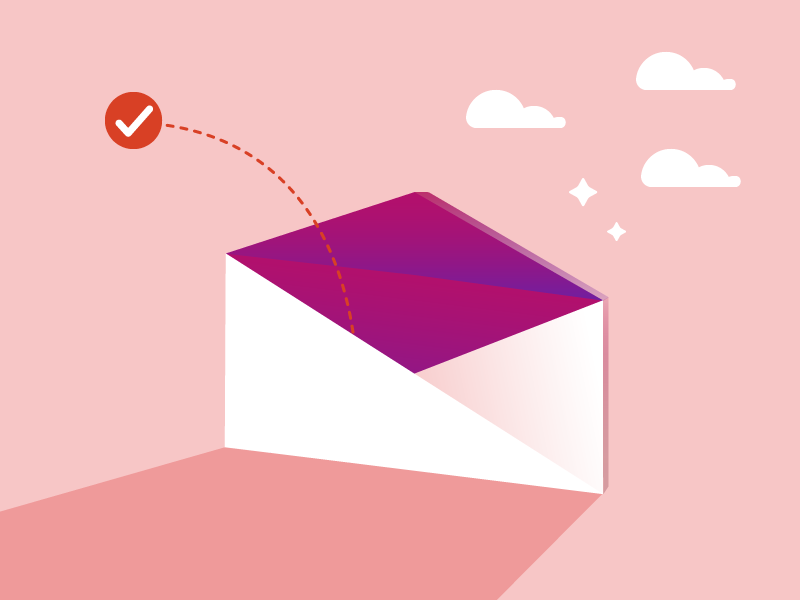 Magic Email email marketing email illustrator illustration