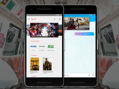 TV App (Daily Ui #025)