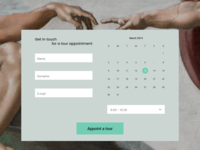 Contact us form (Daily UI #028)