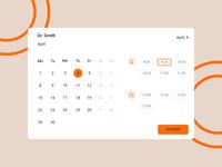 Daily UI #038 (Calendar)