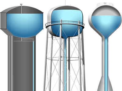Water Towers Cut