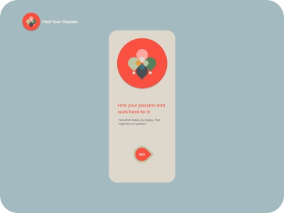 Find Your Passion design userinterface mobile app illustration passion inspiration figma