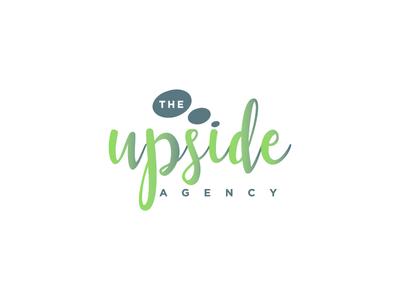The upside agency logo