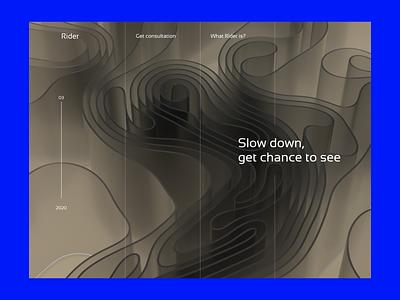 Mental support centre website fonts dailyui cyber menu navigation grid scroll minimalistic homepage 3d illustration colorful flat typography web graphic ux ui minimal design