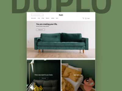 Duplo - online furniture store