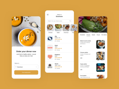 Eat&Treat - food delivery app