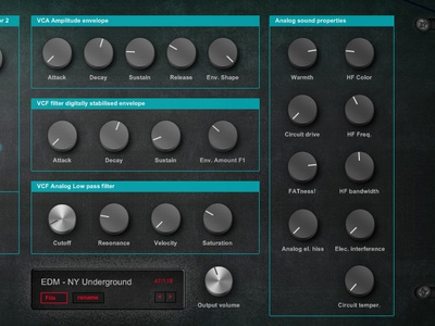 Analog Bass Unit N4 – EDM bassline synthesizer sound design analog circuit emulation knobs buttons deep house music dark psytrance music vst synthesizer vsti plugin electro house music techno music psytrance music music software programming music production bassline synthesizer plugin synthesizer vst plugin edm synthesizer