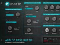 Analog Bass Unit N4 - edm bassline synthesizer