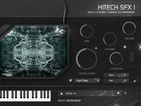 Hitech SFX1 plug-in instrument