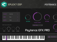 Psytrance EFX Pro plug-in instrument for Win & Mac