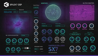 Particle Collider SX7 synthesizer VSTi for Win
