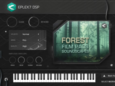 Forest film pads 1 – cinematic soundscapes plug-in instrument