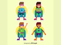 Superheroes Kids II