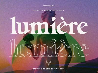 Lumière - Modern Display Serif Font