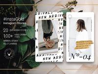 07 instagold minimal instagram stories