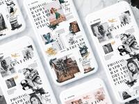 Instagrid 8.0 - Instagram Magazine Puzzle Template