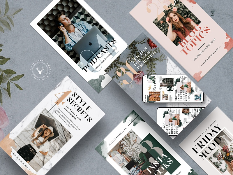 #Infopreneur - Ultimate Social Media Pack products wedding animated story animated instagram animated stories modern creative instagram template watercolor inspiration creativemarket elegant design instagram stories social media instagram social pack instagram pack creative market