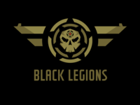 Black Legions Logo Template
