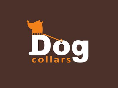 Dog Collars Logo smart logo animal organisation pet shop creative logo accessories collars dog