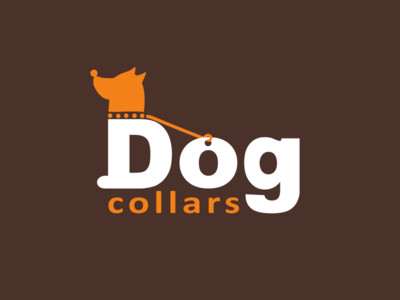 Dog Collars Logo smart logo animal organisation pet shop creative logo accessories collars dog