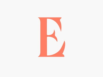 The Letter 'E' custom lettering custom type letters work in progress type typography letter