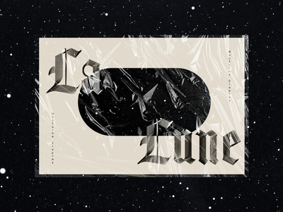 La Lune display font display type nocturne la luna la lune type designer type design typogaphy type typography