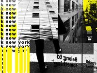 New  York blog collage