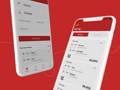 MarinoBus's Application Redesign Concept redesign interaction payment design thinking user interface ui ticket bus animation