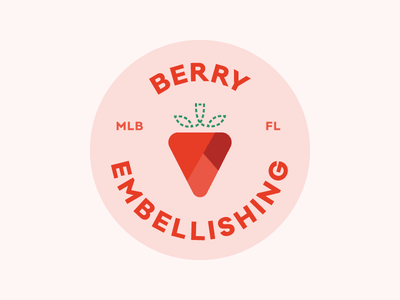 Berry Embellishing logo logo