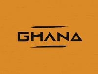 Ghana wordmark