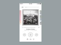 Daily UI #009 - Music Player