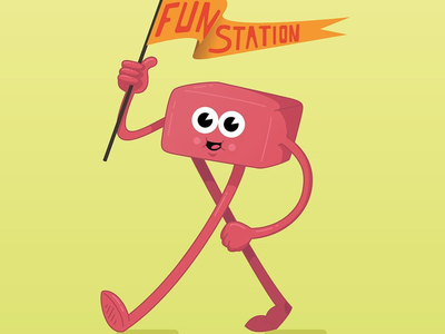 Fun Station vector artworks vector vector art illustrator dibujo personajes happy fun art fun character concept design ilustración character design illustration