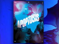 Apollo Poster Design 14 Apoptosis