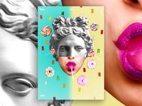 Lollipop Poster Design #52