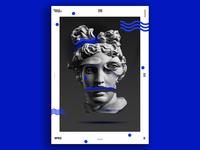 Vagarious Blue Poster #53