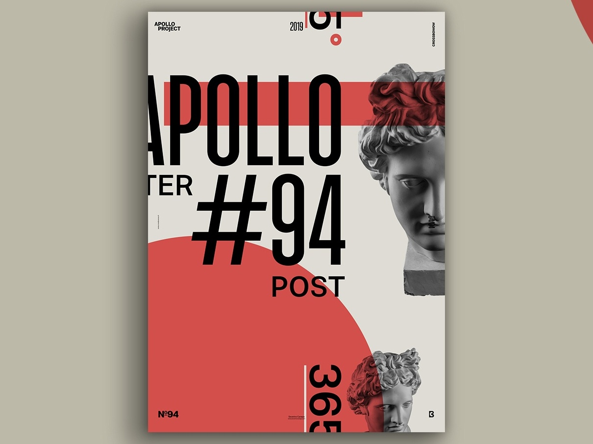 Retro Red Poster 94 By Severino Canepa On Dribbble