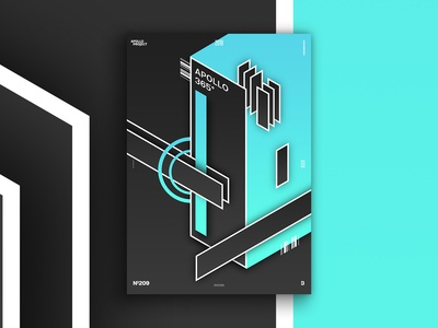 Rounded Edges #3 Poster #209