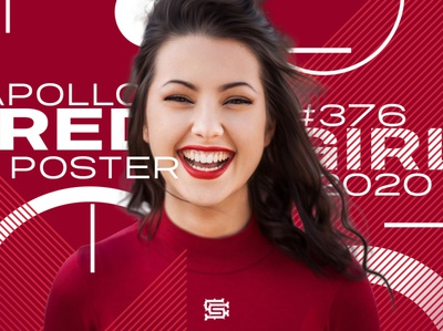 Red Girl Poster #376