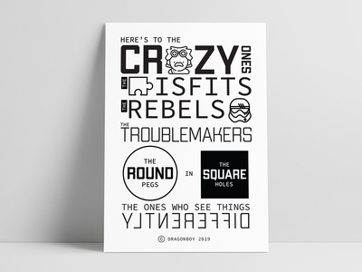 Crazy Ones | Steve Jobs Quotes