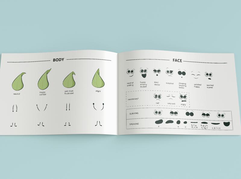 Leaf Character Design guideline mascot character character character design nature vegan characterdesign vector illustration graphic flatart