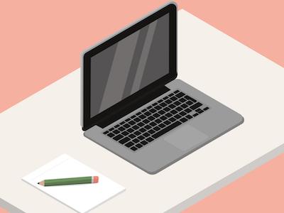 Isometric Macbook